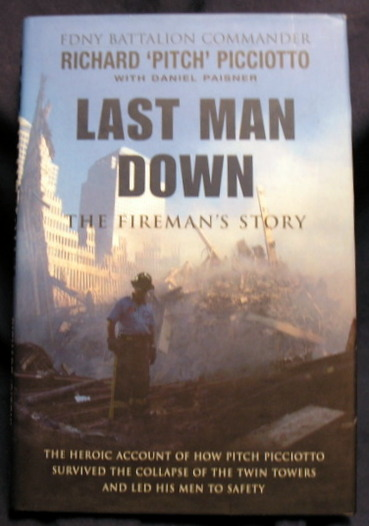 Image for Last Man Down  the Fireman's Story