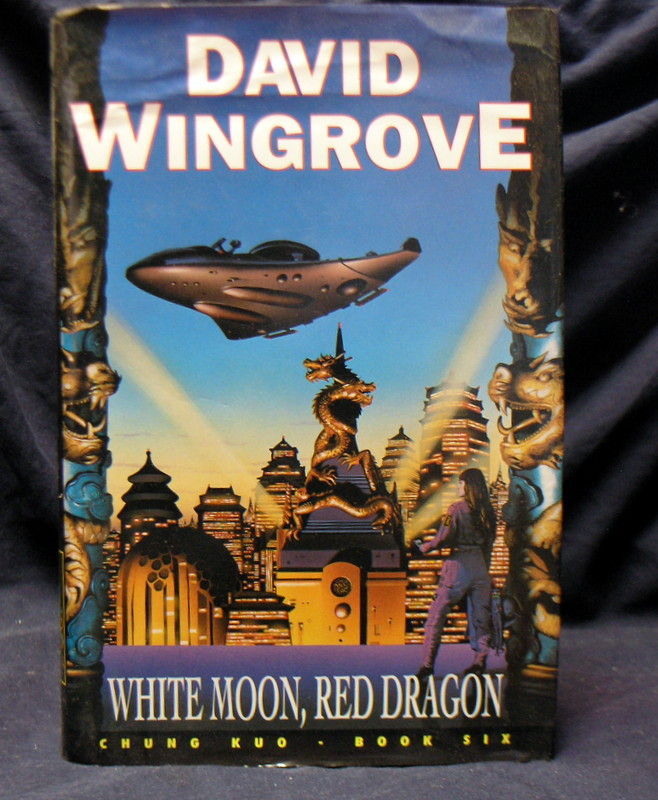 Image for White Moon ,red Dragon