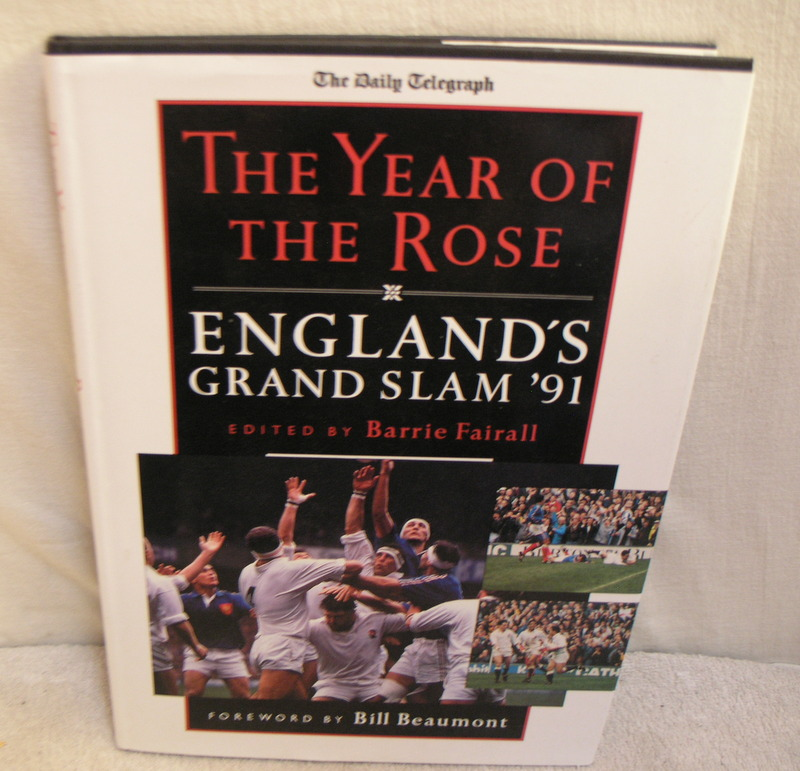 Image for Daily Telegraph the Year of the Rose England's Grand Slam '91