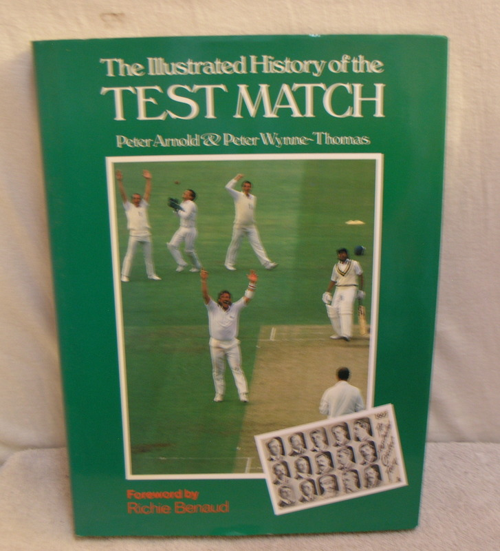Image for The Illustrated History of the Test Match