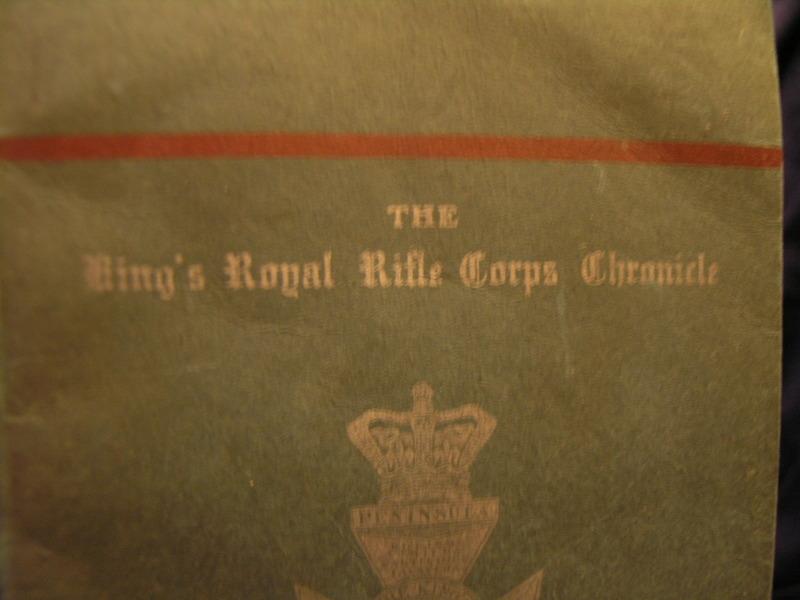 The kings Royal Rifle Corps Chronicle 1942