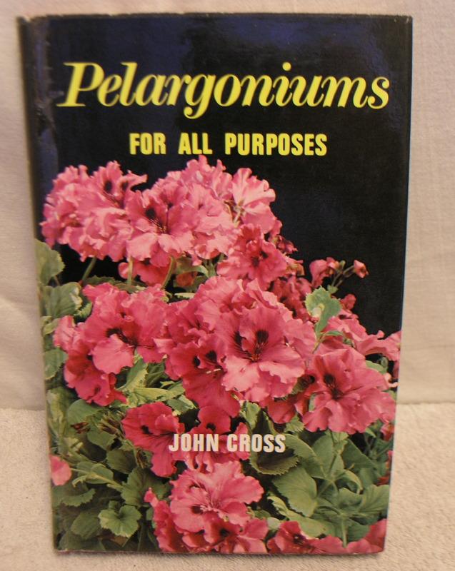 Pelargoniums for all purposes