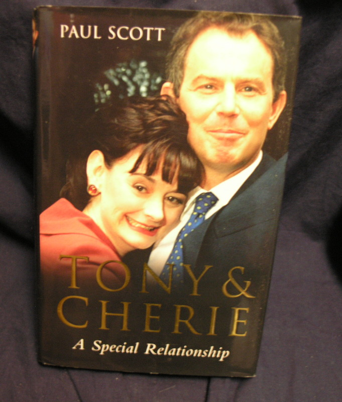 Image for Tony and Cherie: A Special Relationship.