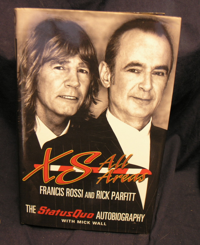 Image for XS All Areas: The Status Quo Autobiography.