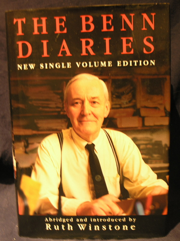 Image for The Benn Diaries : single volume edition.