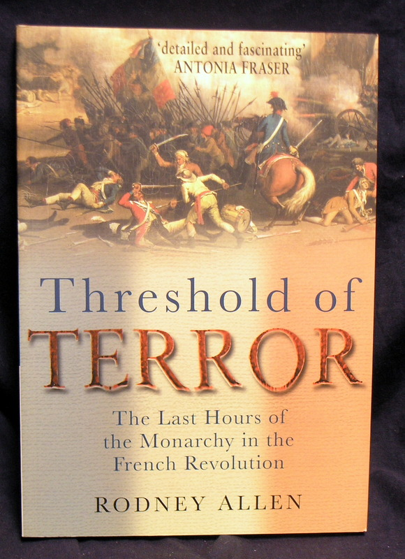 Image for Threshold of Terror: The Last Hours of the Monarchy in the French Revolution.