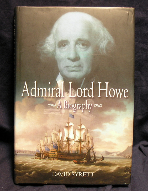 Image for Admiral Lord Howe: A Biography