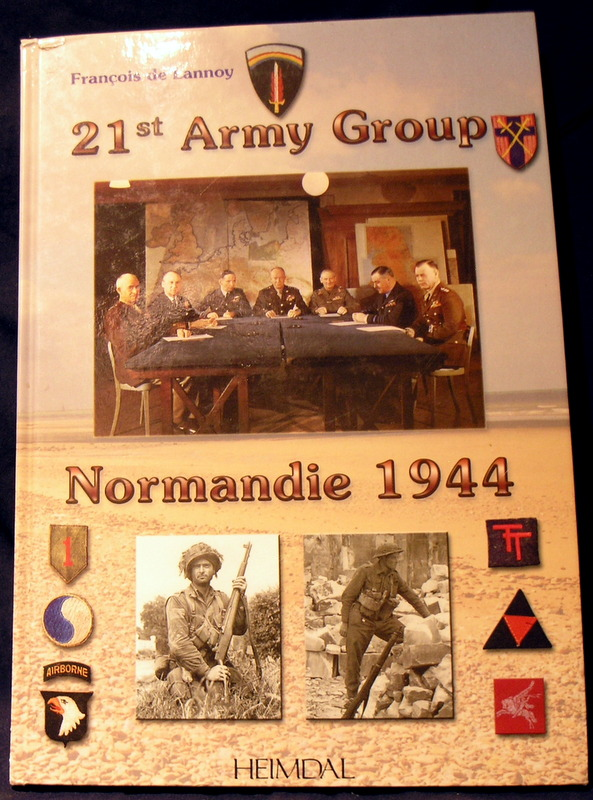 Image for 21st Army Group Normandie 1944 (French Edition)