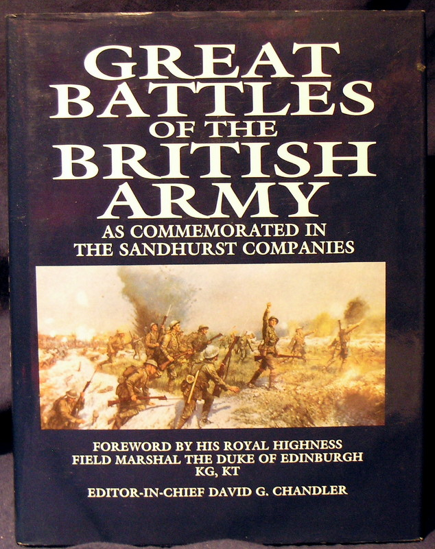Image for Great Battles of the British Army: As Commemorated in the Sandhurst Companies.