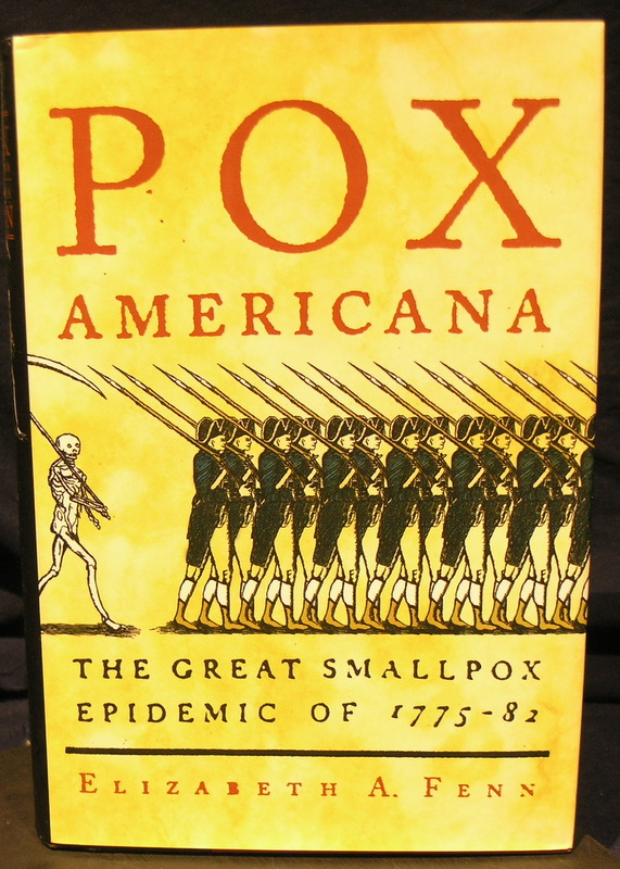 Image for Pox Americana: The Great Smallpox Epidemic of 1775-82