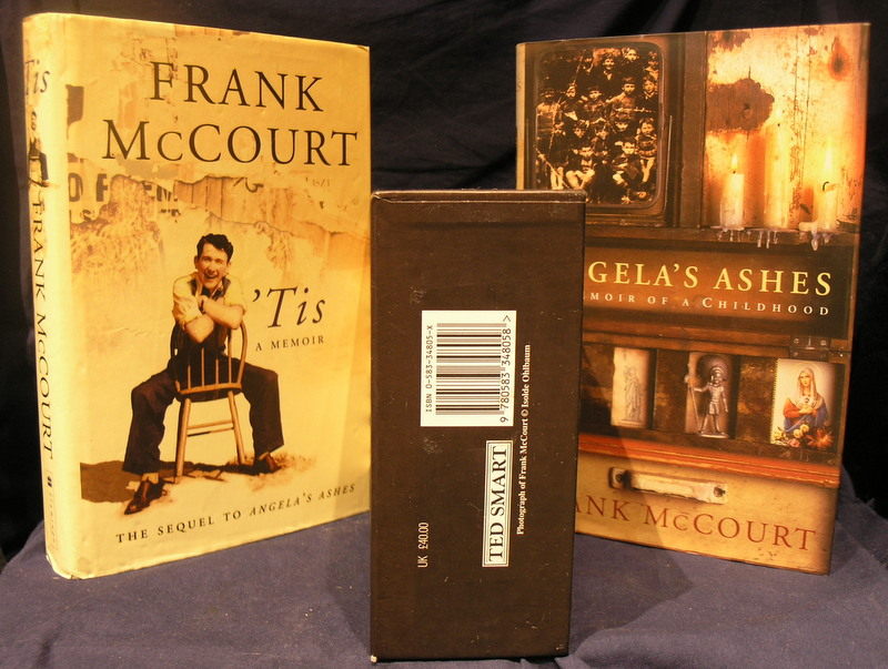 Image for Frank McCourt ; Double volume Box set of ' Tis and Angela's Ashes.