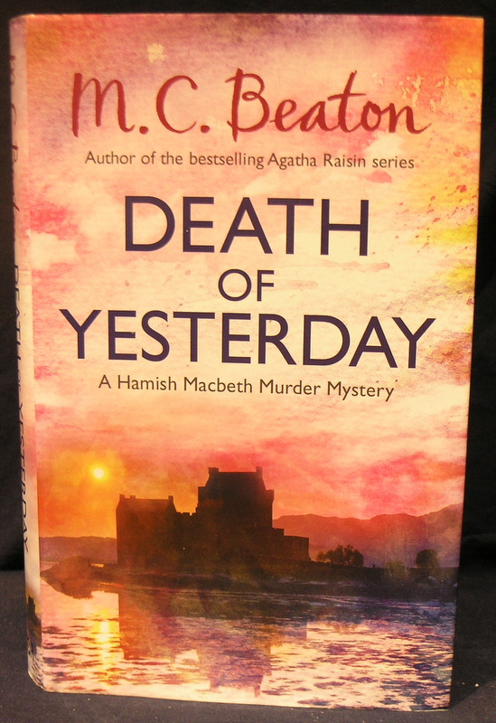 Image for Death of Yesterday; A Hamish Macbeth Murder Mystery