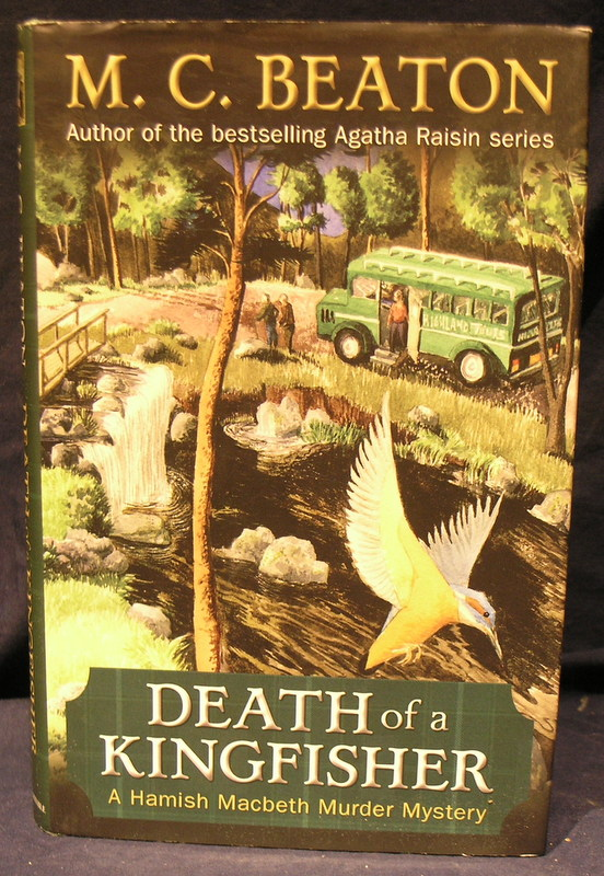 Image for Death of a Kingfisher : A Hamish Macbeth Murder Mystery