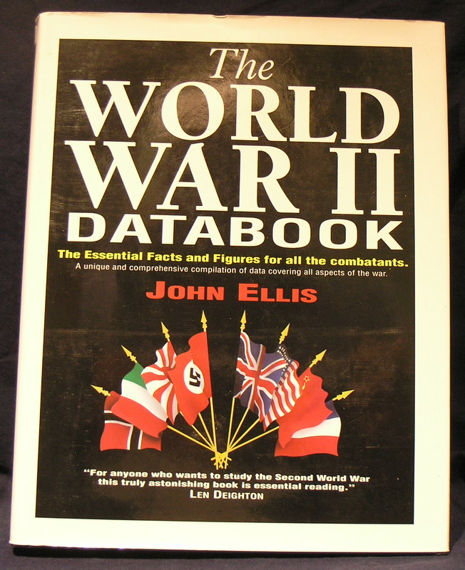 Image for The World War II Databook ; The Essential Facts and Figures for all the Combatants