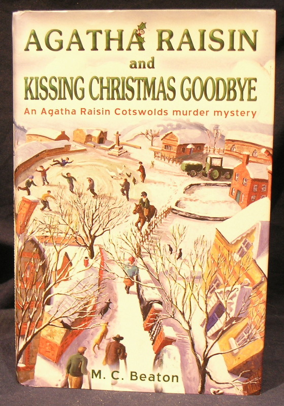 Image for Agatha Raisin and Kissing Christmas Goodbye