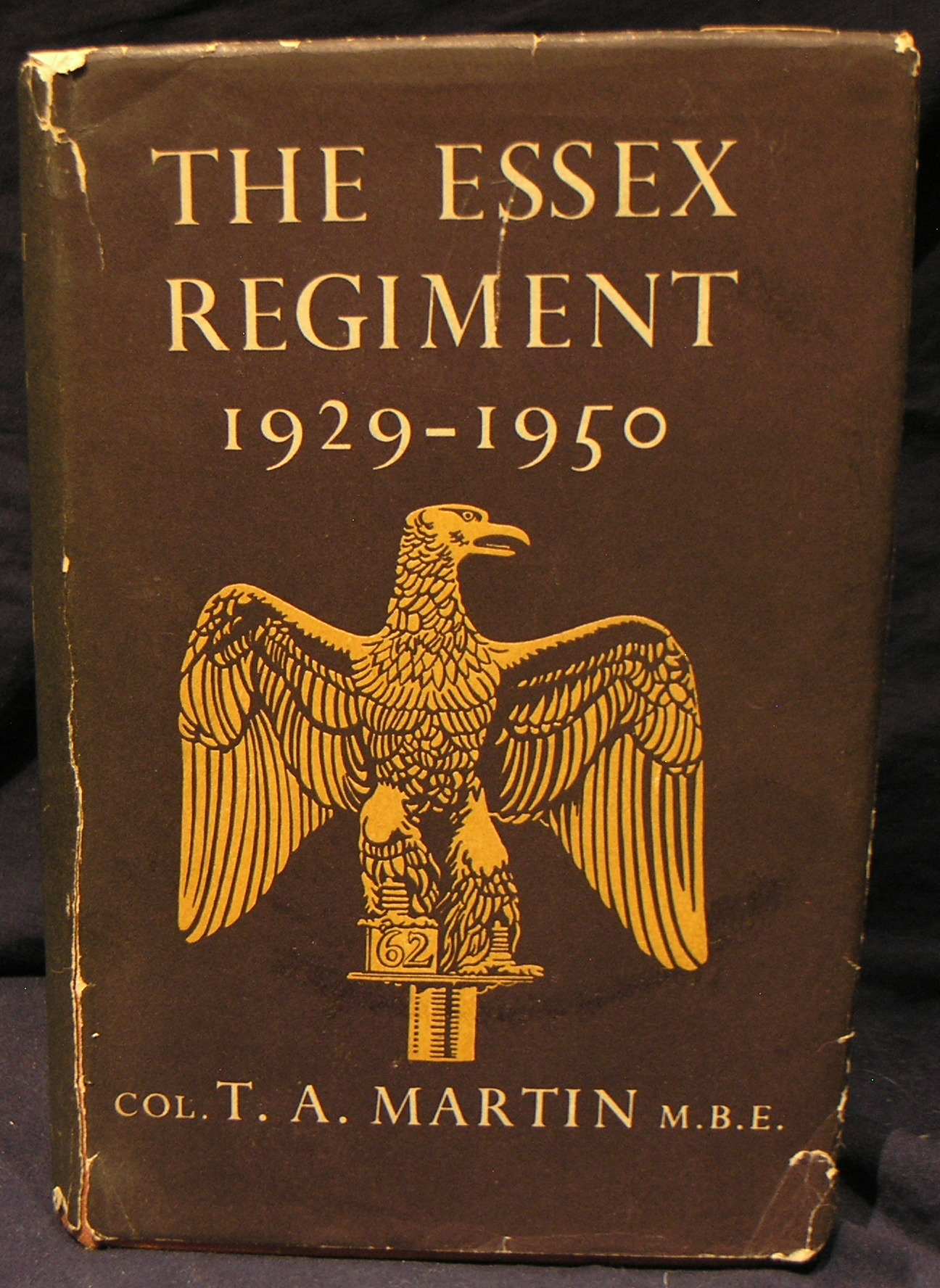 Image for The Essex Regiment 1929 - 1950