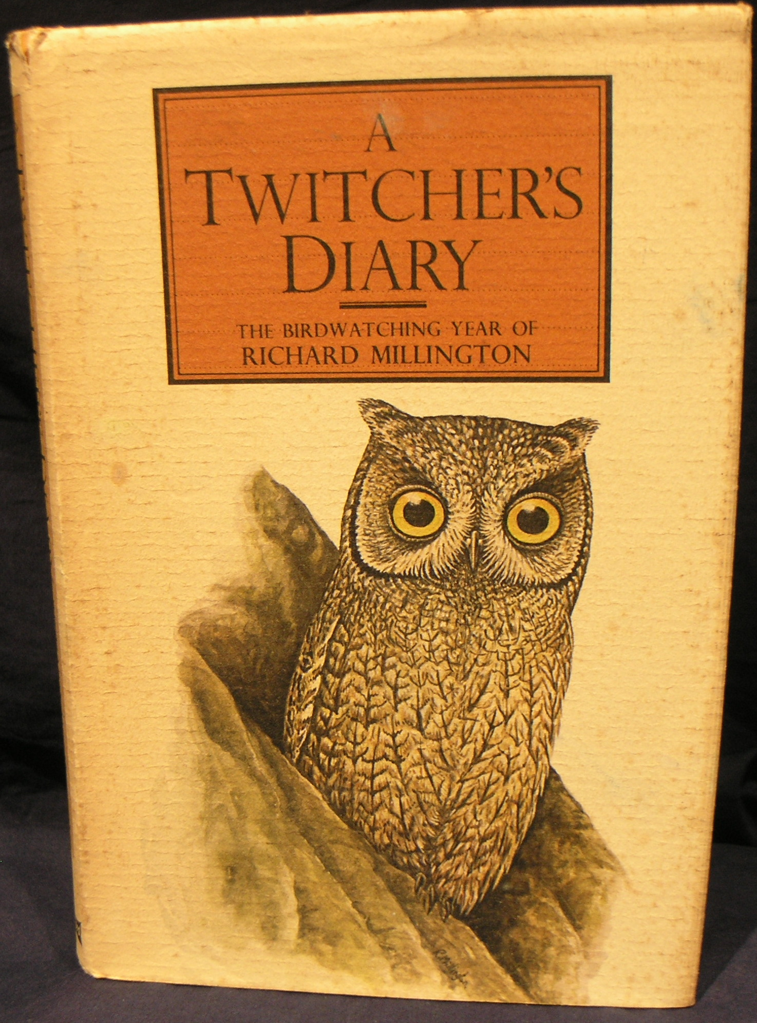 Image for Twitcher's Diary: Bird Watching Year of Richard Millington