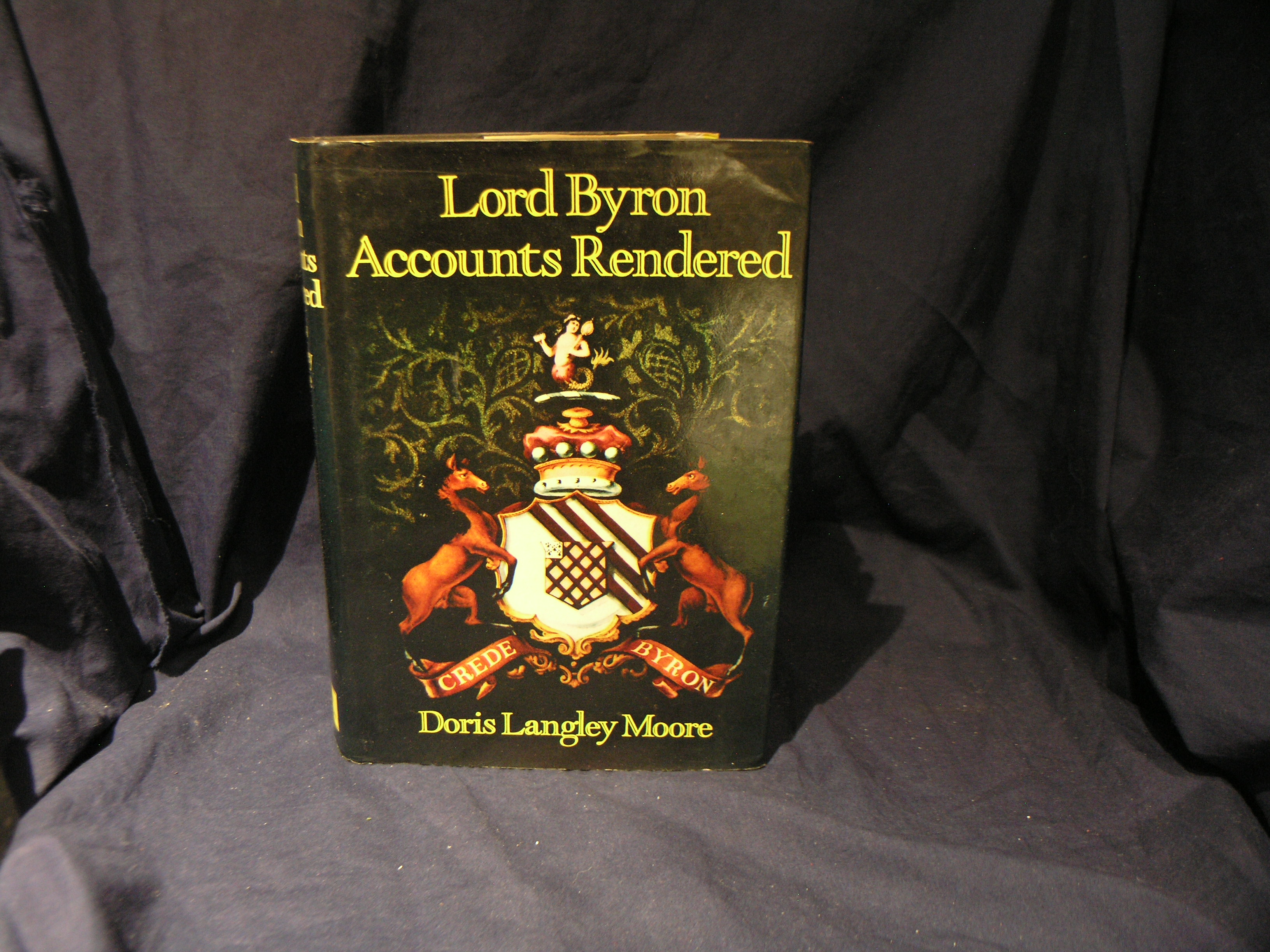 Image for Lord Byron: Accounts Rendered