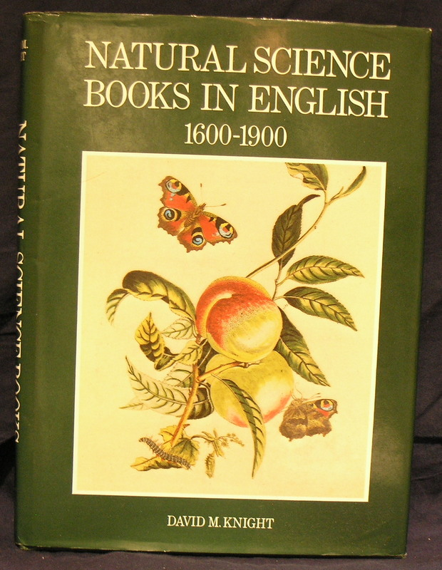 Image for Natural science books in English, 1600-1900