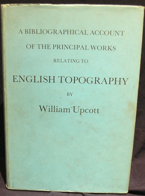 Image for Bibliographical Account of the Works Relating to English Topography