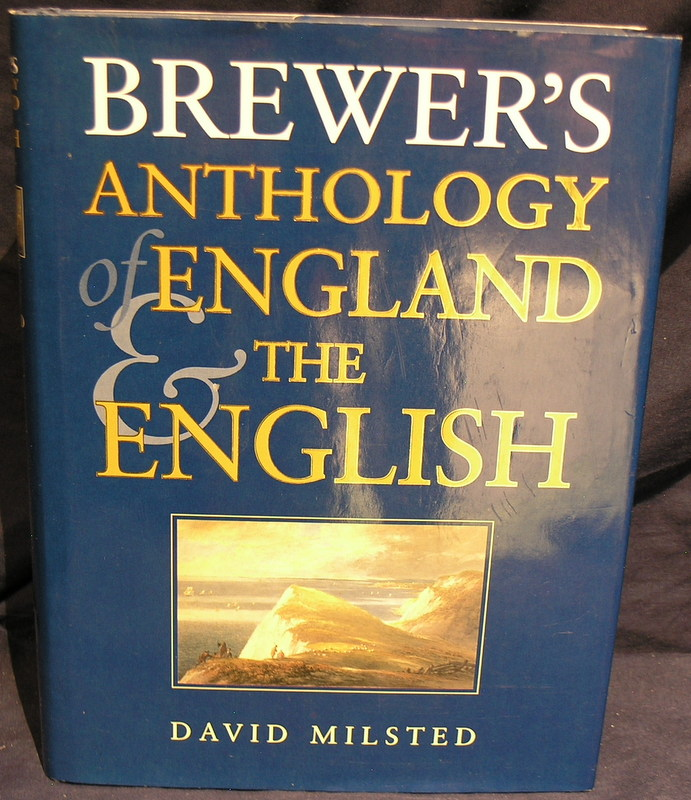 Image for Brewer's Anthology of England and the English