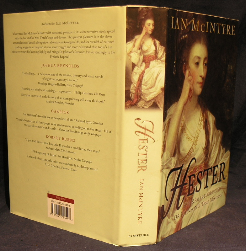 Image for Hester: The Remarkable Life of Dr Johnson's 'Dear Mistress'