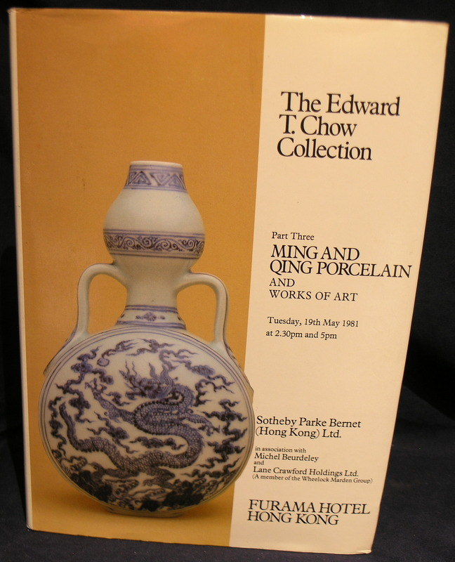 The Edward T. Chow Collectrion Part Three