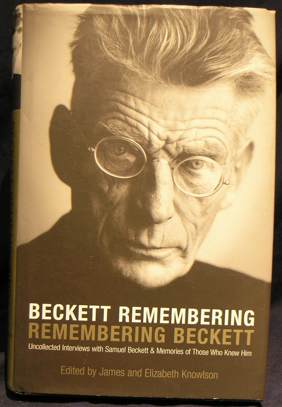 Image for Beckett Remembering Remembering Beckett
