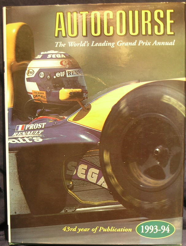 Image for Autocourse 1993-94; 43rd year of Publication