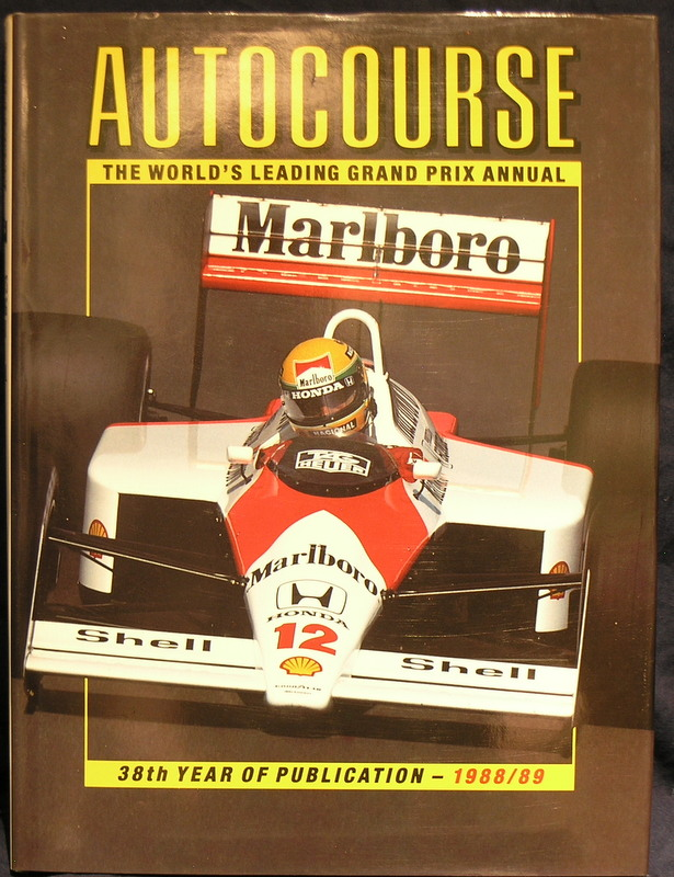 Autocourse: 1988/89 38th Year of Publication