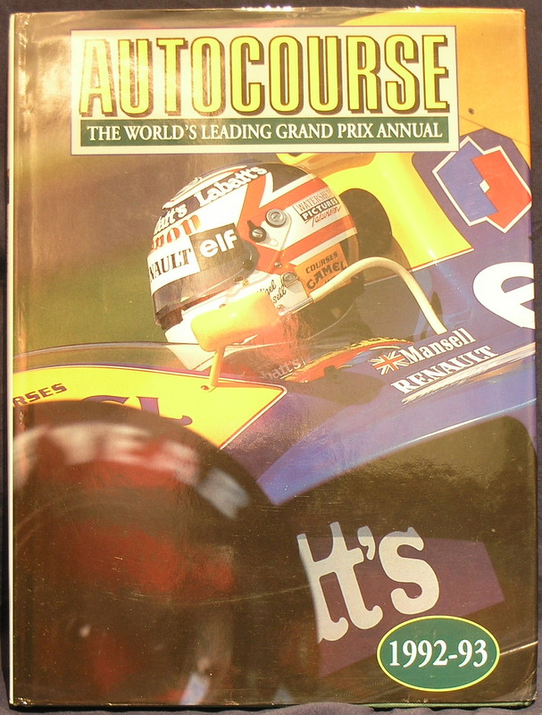Image for Autocourse 1992-93; 42nd Year of Publication