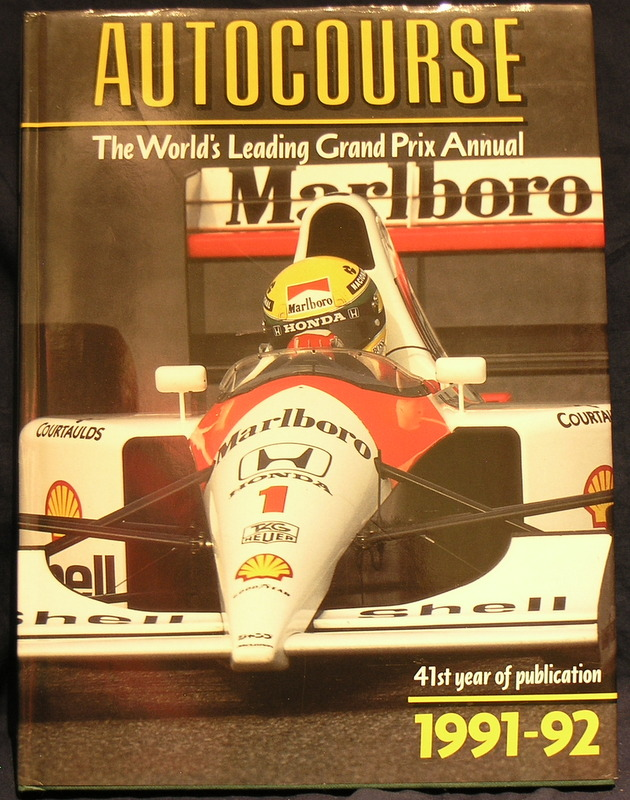 Image for Autocourse 1991-92 : 41st Year of Publication