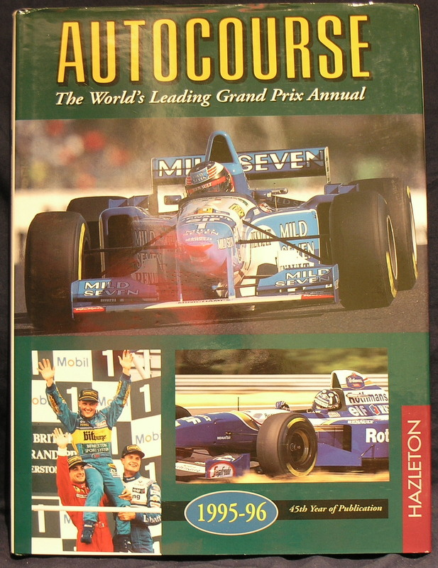 Image for Autocourse 1995-96: 45th Year of Publication.