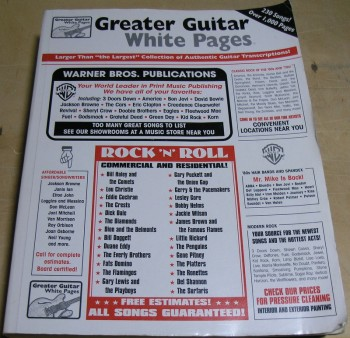 Image for The Ultimate White Pages Guitar Vol. 1 A to Z
