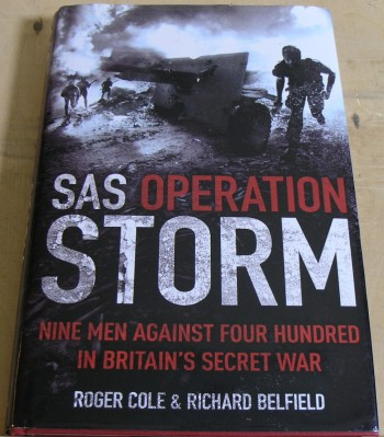 Image for SAS Operation Storm: Nine men against four hundred