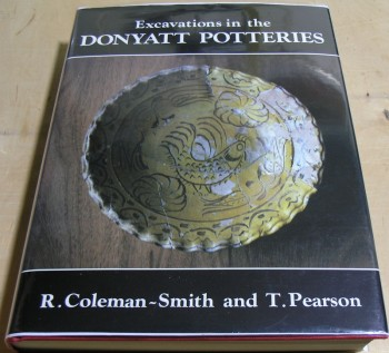 Image for Excavations in the Donyatt Potteries