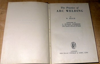 Image for The Practice of Arc Welding.