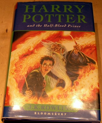 Image for Harry Potter and the Half-blood Prince.
