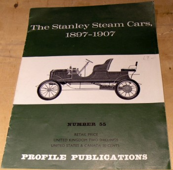 Image for The Stanley Steam Cars  1897 - 1907 - No. 55