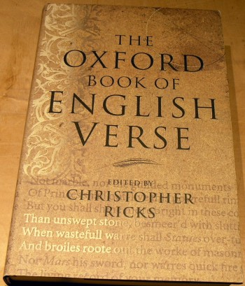 Image for The Oxford Book of English Verse