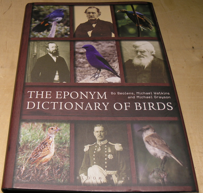 Image for The Eponym Dictionary of Birds