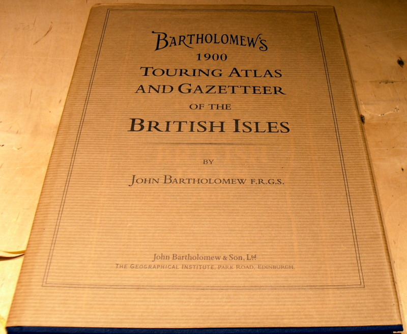 Image for Bartholomew's Touring Atlas and Gazetteer of the British Isles (Road Atlas)