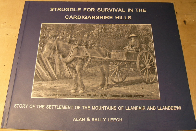 Image for Struggle for Survival in the Cardiganshire Hills.: story of the settlement of the mountains of LLanfair and LLanddewi
