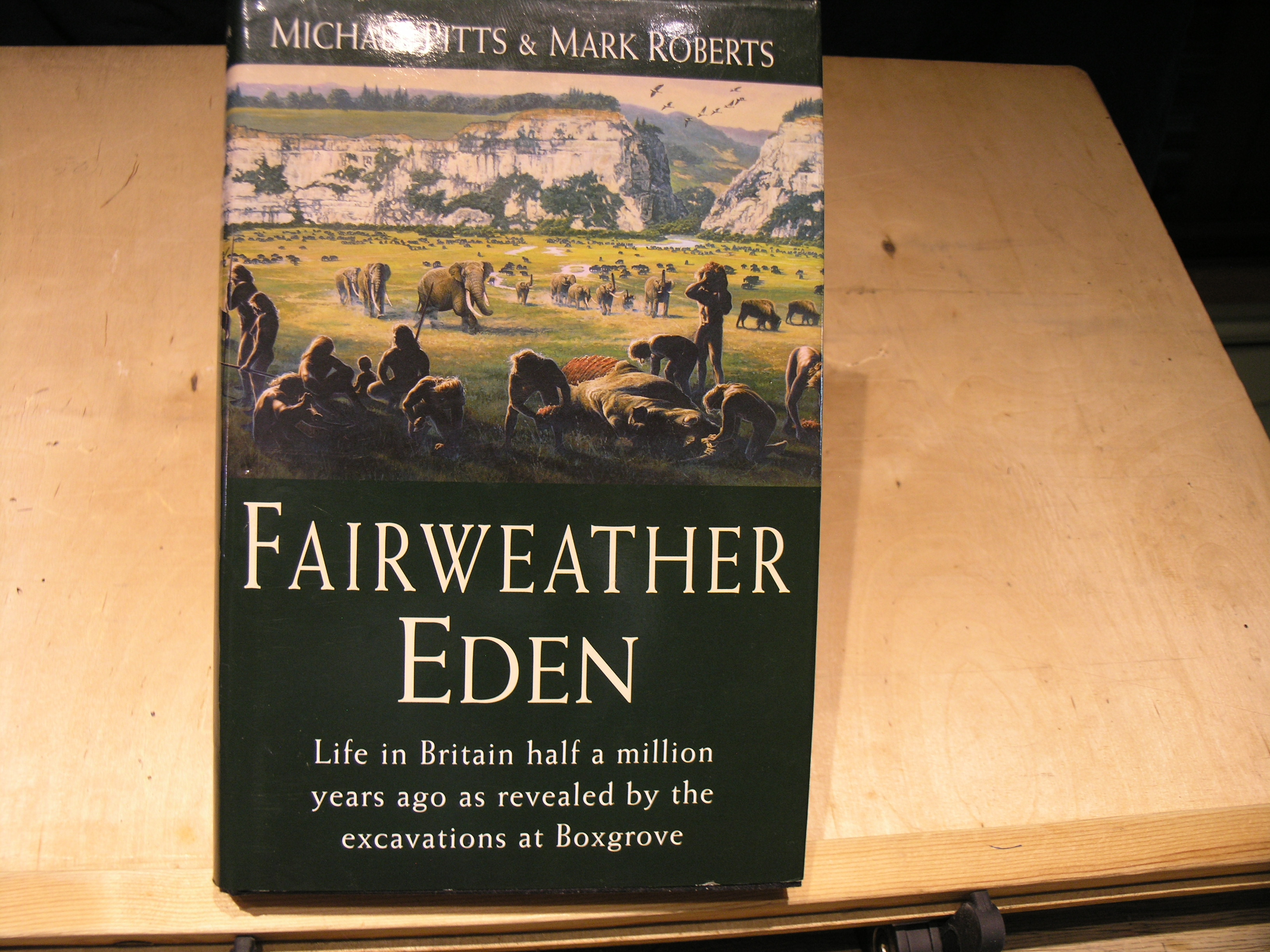 Image for Fairweather Eden: life in Britain half a million years ago as revealed by the excavations at Boxgrove